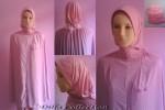 Mukena Motif Bunga Pink