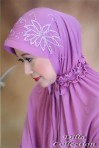 jilbab model tangan manset