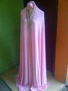 mukena dubai pink