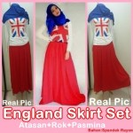 england skirt set 100