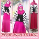 flowie cardi set hijab 105