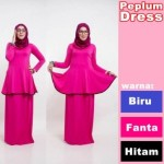 Peplum Dress Rp.100rb