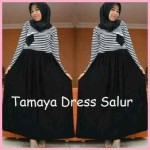 Tamaya Dress Salur Rp.80rb