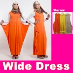 Wide Dress Rp.75rb